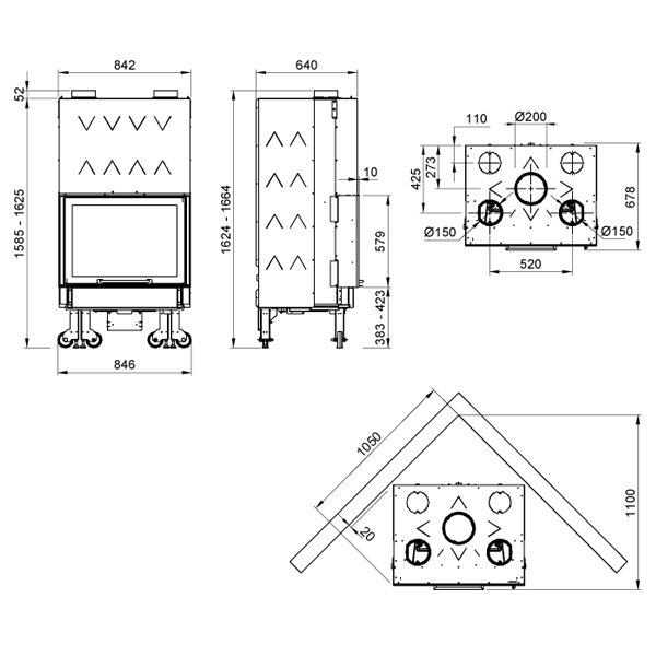 Monoblocco 750 Piano 13kW Ironker
