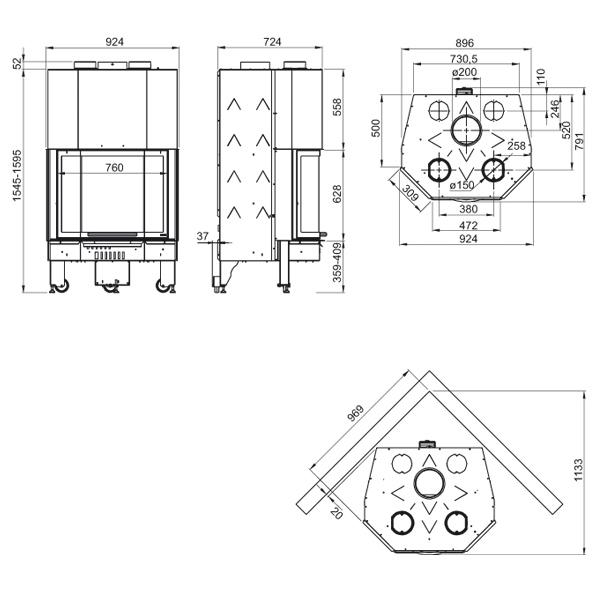 Monoblocco 750 Prisma 13kW