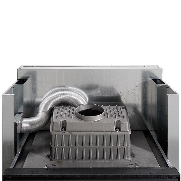 Focolare 100 Bifacciale Hybrid 11kW
