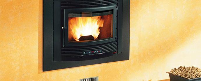 Pellet Burning Boiler Inserts