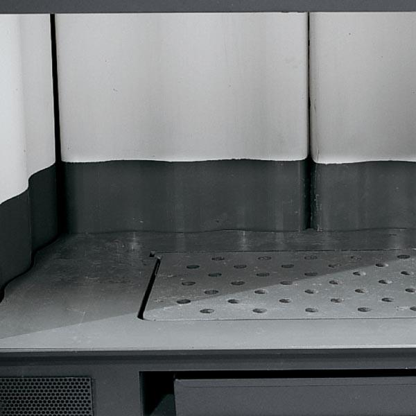 Inserto 50 Crystal Ventilato 6 kW