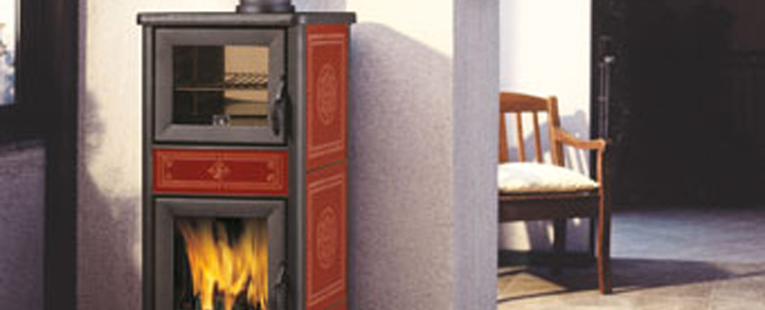 Wood burning Stoves with oven