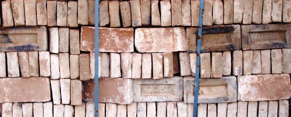 Old decorative bricks