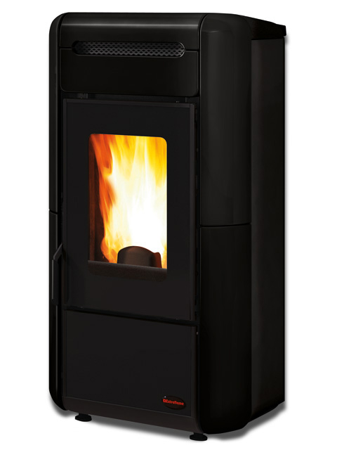 Extraflame Giordana Idro 18,4kW χρώμα μαύρο