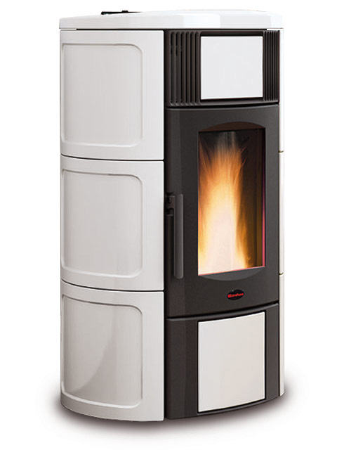 Extraflame Iside Idro 18,4kW χρώμα Λευκό