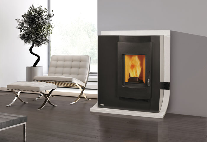 dame 6kw slim pellet stoves air models stoves. Black Bedroom Furniture Sets. Home Design Ideas