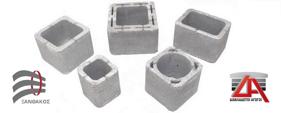 Pefabricated concrete chimney elements and caps